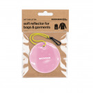 Hanging Reflector Circle Pink