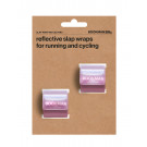 Snap Band Reflectors Pink
