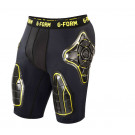 Pro T Shorts Black/Yellow