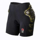 Pro B Womens Compression Shorts Black/Yellow