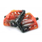Galaxy Twisted Pedals Red