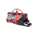 Slugger Duffel Bag Black w/Red Straps