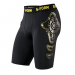 Pro X Youth Shorts Black/Yellow