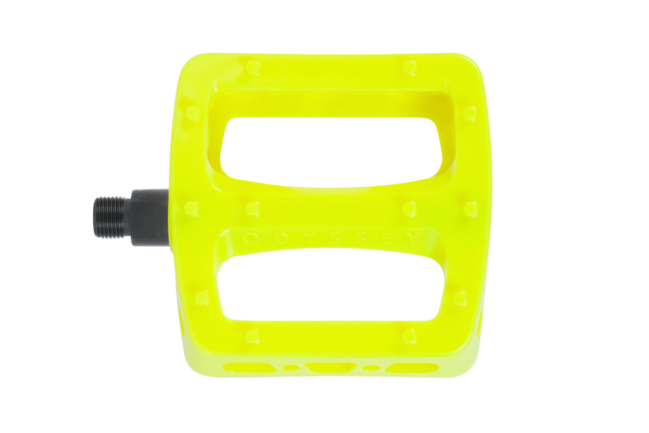 Odyssey Twisted Pro Pedal Fluro Yellow
